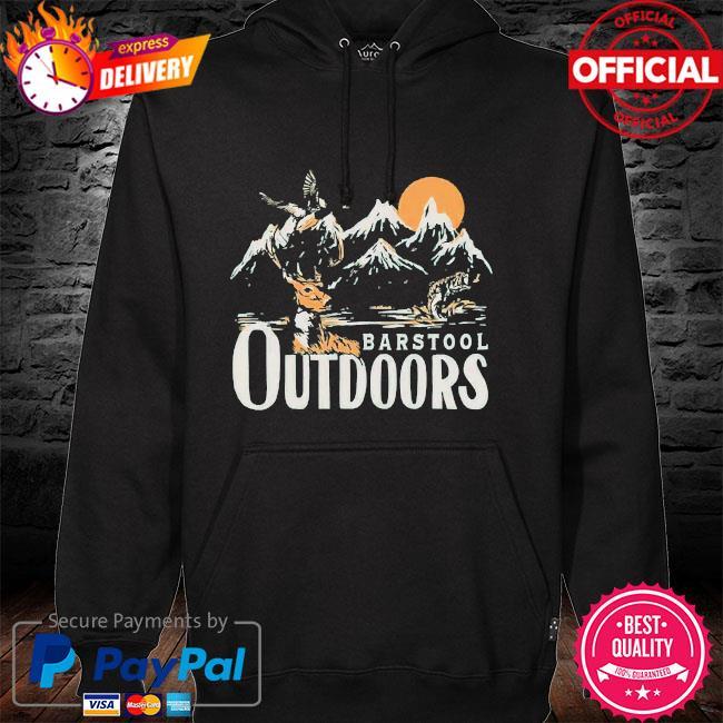 Barstool outdoors hoodie
