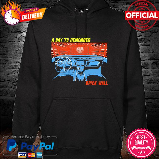 A day to remember brick wall hoodie