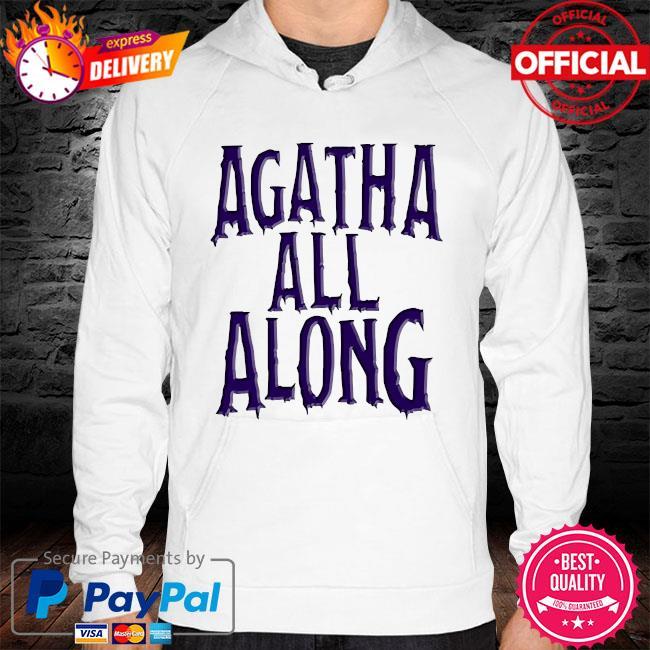 Agatha all along wandavision hoodie