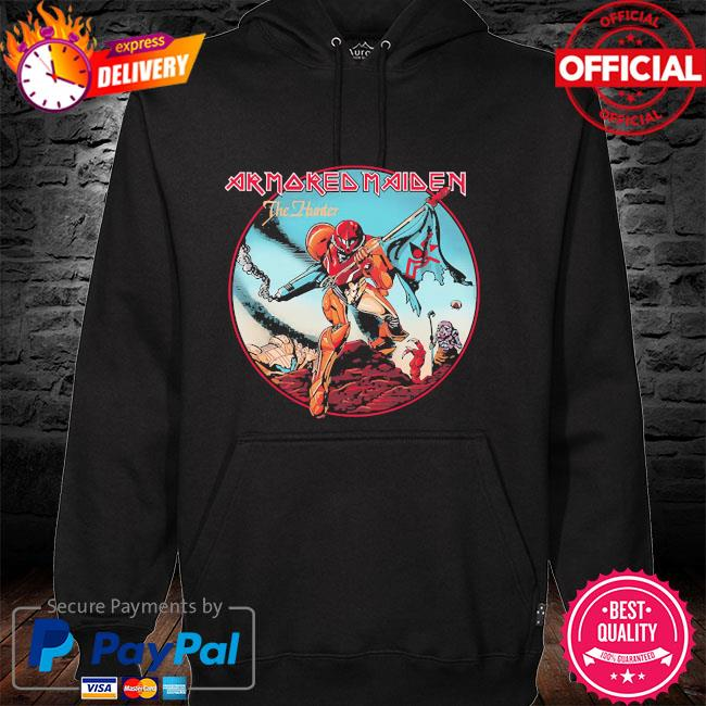 Armored maiden the hunter hoodie