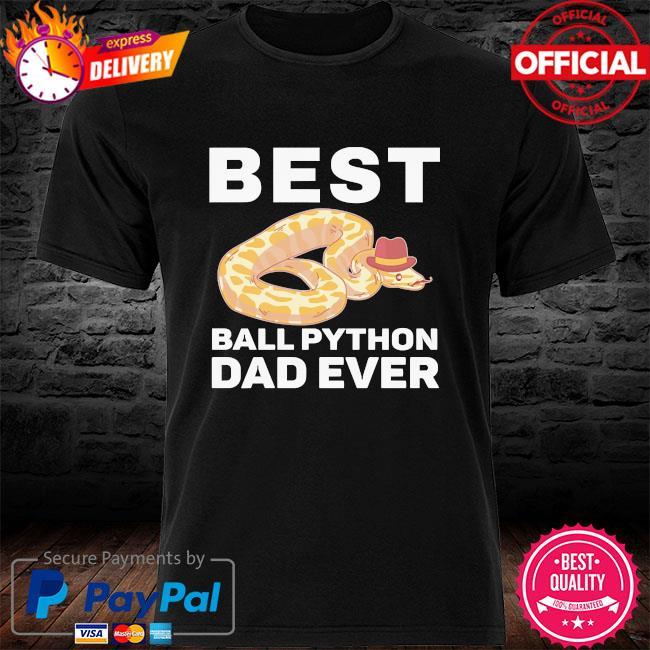 Best ball python dad beard mustache pet snake shirt