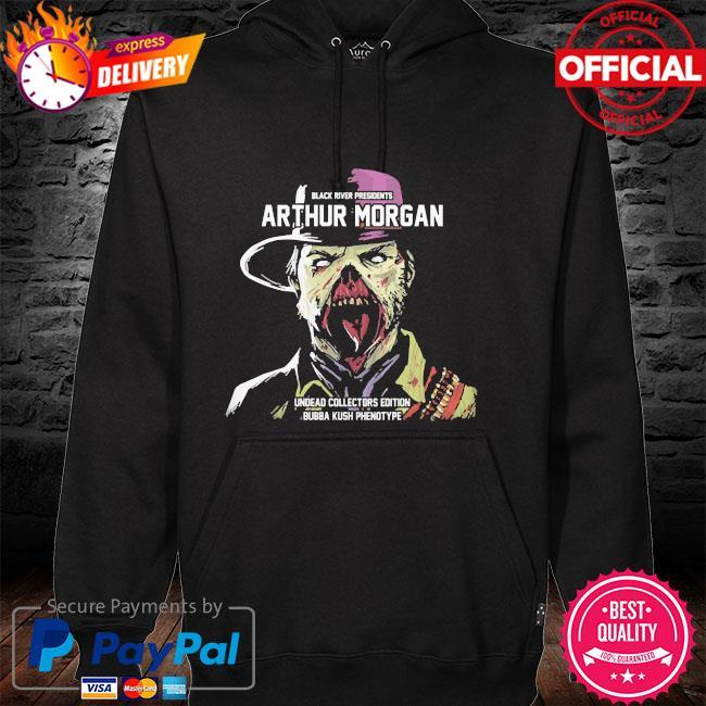 Black river presidents arthur morgan undead collectors edition hoodie
