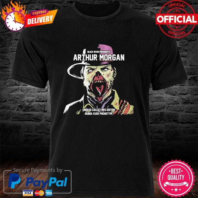 Black river presidents arthur morgan undead collectors edition shirt