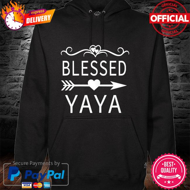 Blessed yaya mother's day hoodie