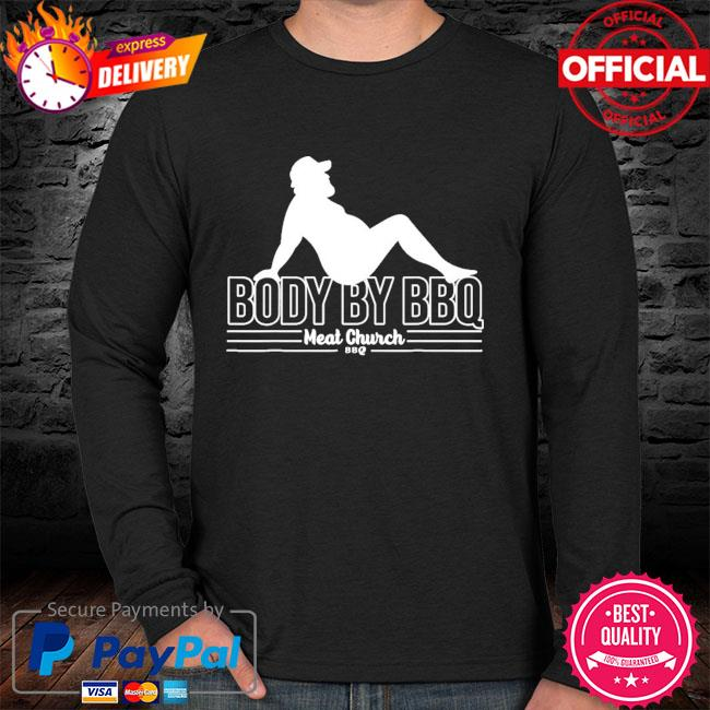 Body by bbq vintage meat church sweater