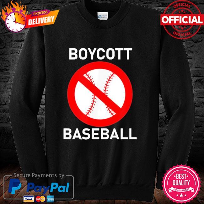Boycott baseball long sleeve