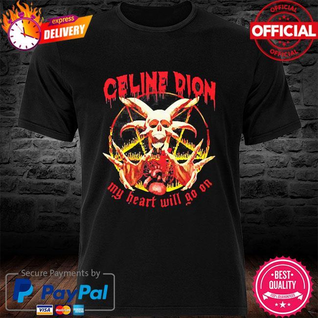 Céline dion my heart will go on shirt