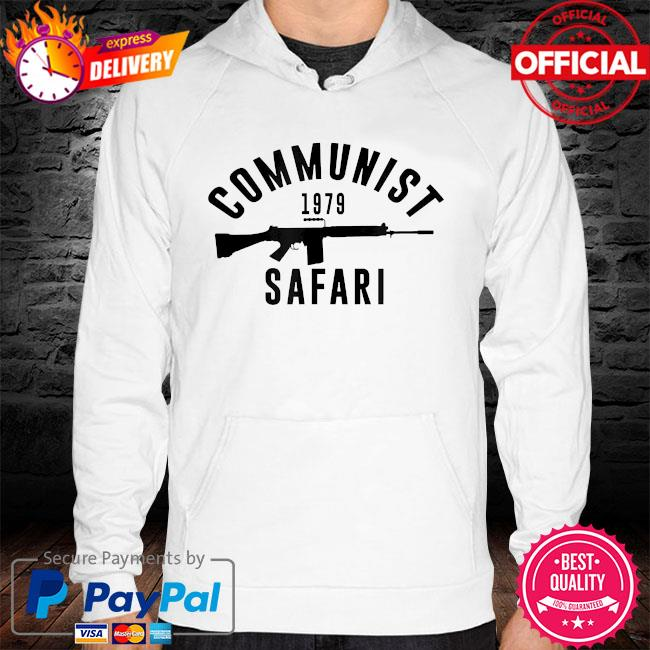 Communist 1979 safari hoodie