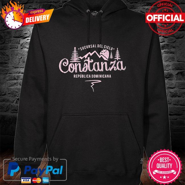 Constanza la vega dominican republic souvenir hoodie