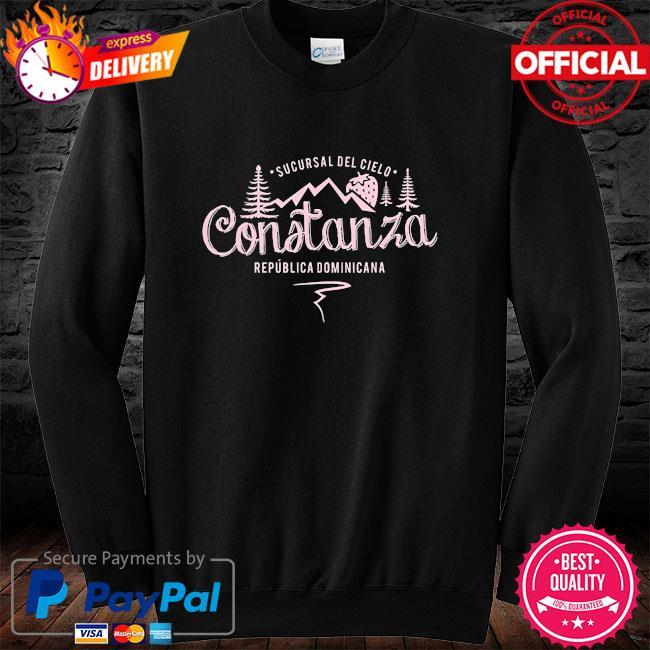 Constanza la vega dominican republic souvenir long sleeve