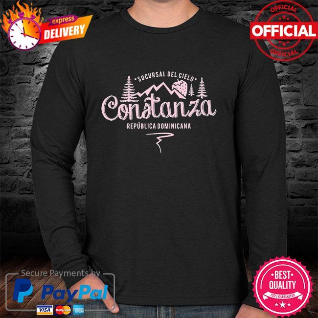 Constanza la vega dominican republic souvenir sweater
