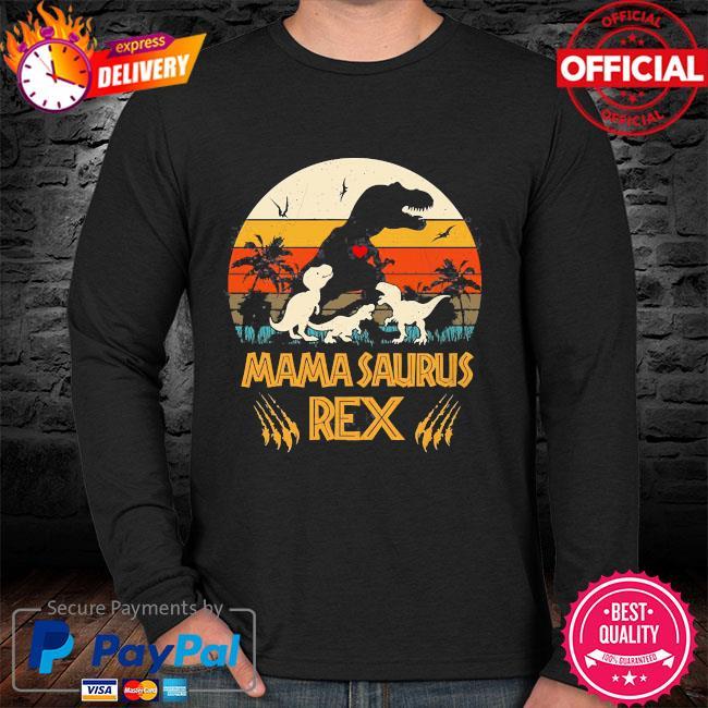 Dinosaur mamasaurus rex vintage sweater