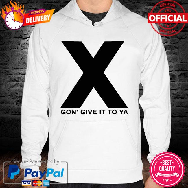 Dmx x gon' give it to ya hoodie