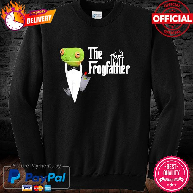 Frog father or frogfather for frogs fan frog lovers long sleeve