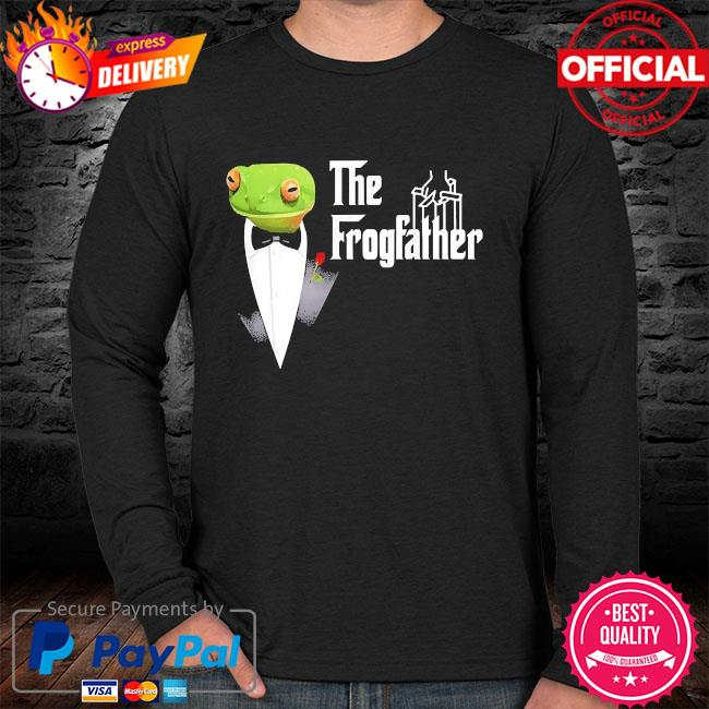 Frog father or frogfather for frogs fan frog lovers sweater