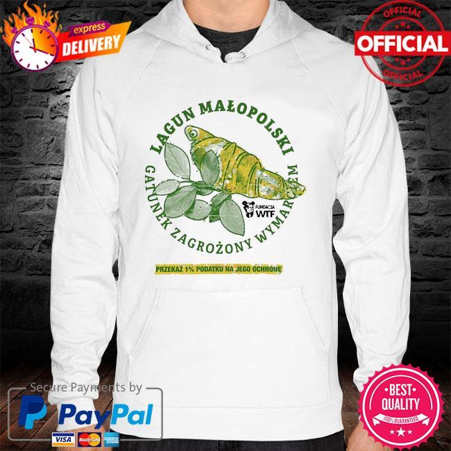 Lagun malopolski gatunek zagrozony wymarciem przekaz 1% podatku na jego ochrone hoodie