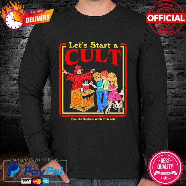 Let's start a cult satanic vintage horror edgy sweater