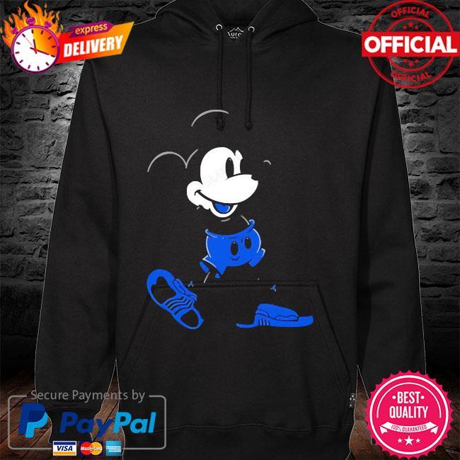 Mickey mouse Jordan 12 game royal matching hoodie