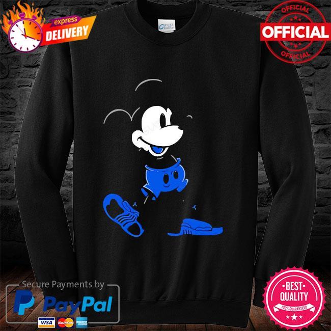 Mickey mouse Jordan 12 game royal matching long sleeve