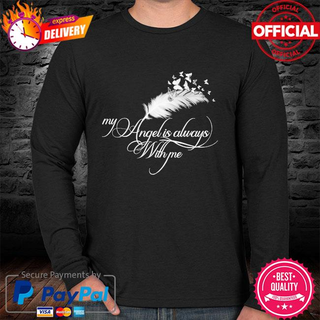 My angel is always with me sweater