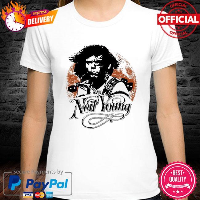Neil young canadian rocker shirt