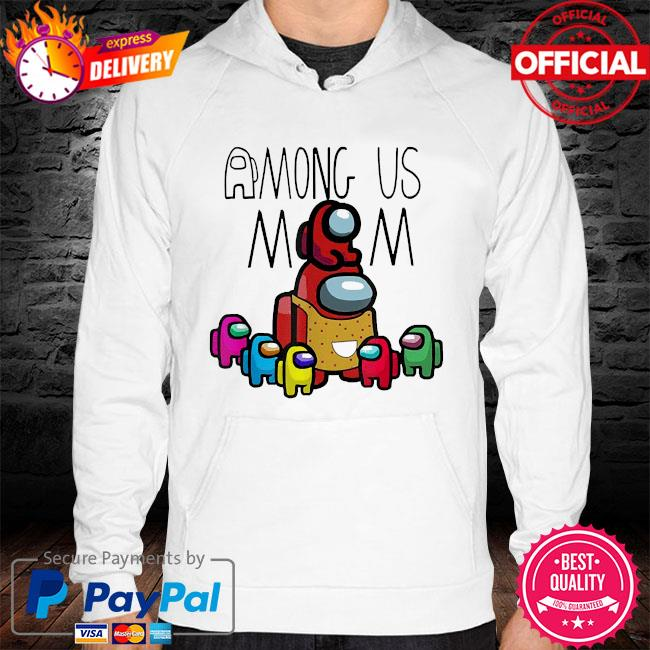 Official among us mom mother day hoodie