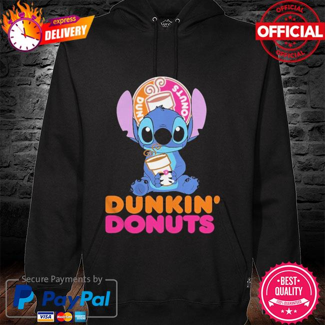 Official Baby stitch hug Dunkin' Donuts 2021 hoodie