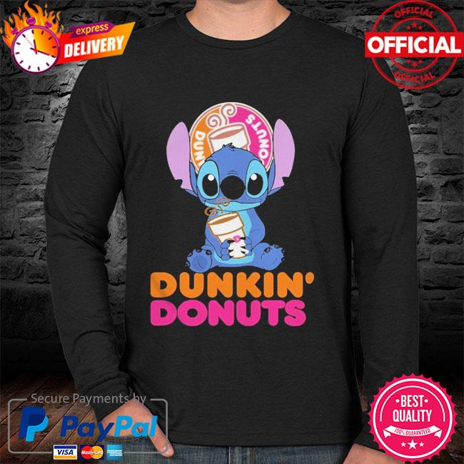 Official Baby stitch hug Dunkin' Donuts 2021 sweater