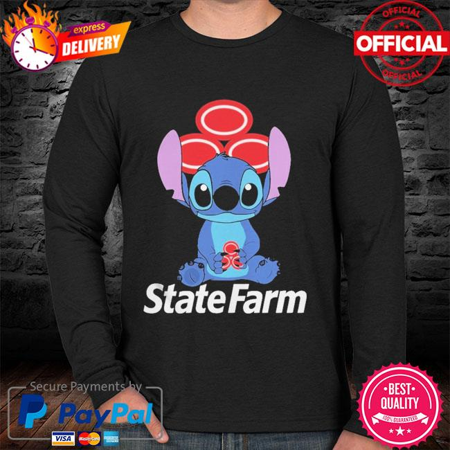 Official Baby stitch hug State Farm 2021 sweater