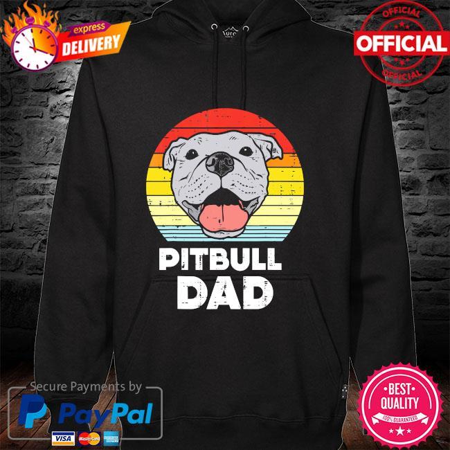 Pitbull Dad vintage hoodie