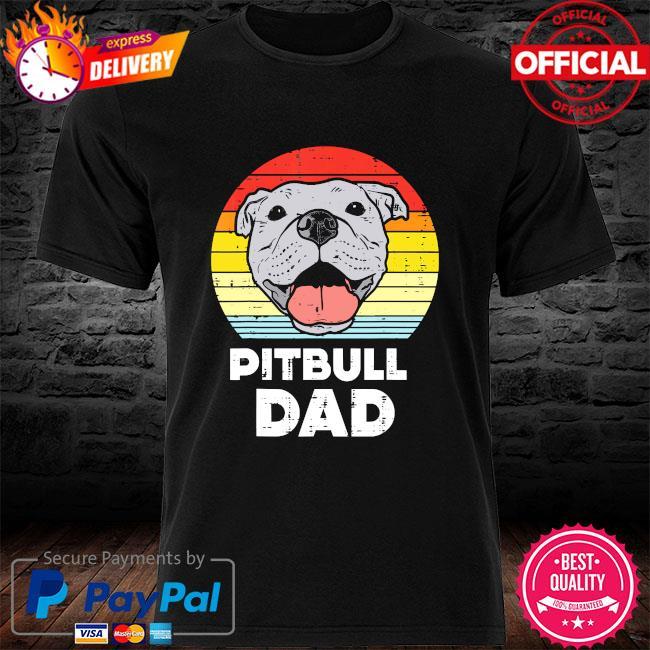 Pitbull Dad vintage shirt