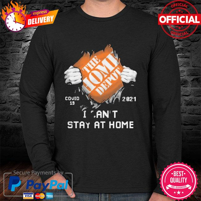 The Home Depot covid 19 2021 stay at home sweater