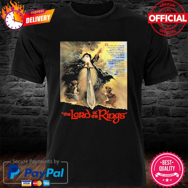The lord of the rings shirt