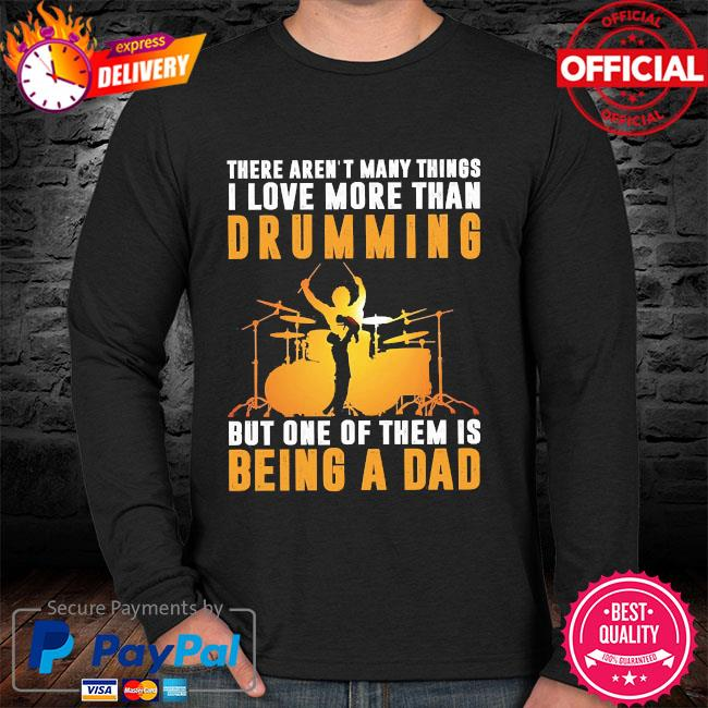There aren't many things I love more than drumming but one of them is being a dad sweater
