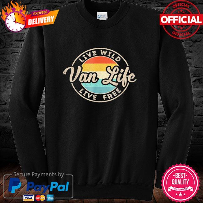 Van life clothing retro vintage van dwellers vanlife nomads long sleeve
