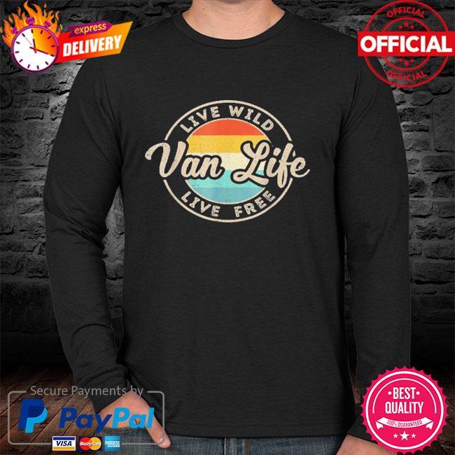 Van life clothing retro vintage van dwellers vanlife nomads sweater