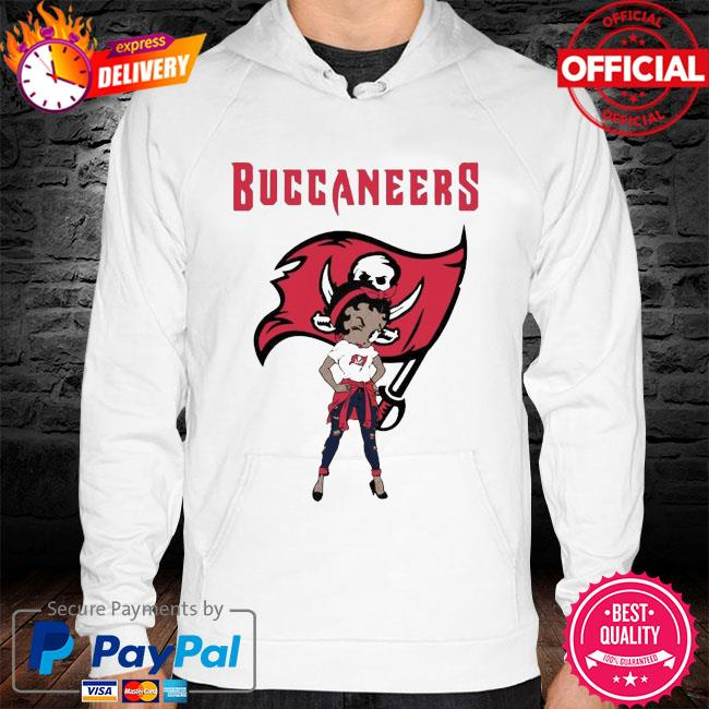 Betty boop tampa bay buccaneers super bowl nfl hoodie