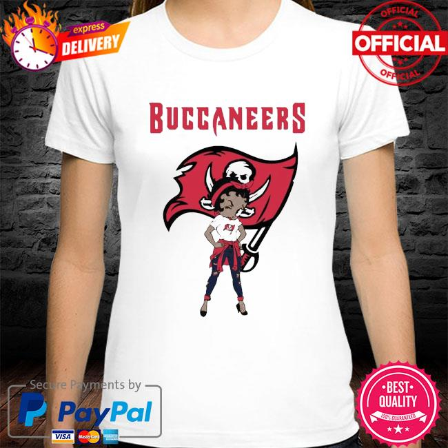 Betty boop tampa bay buccaneers super bowl nfl shirt