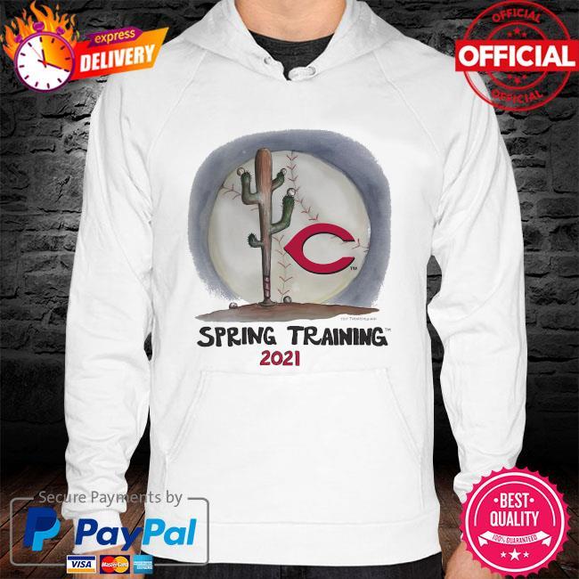 Cincinnati Reds Tiny Turnip Youth 2021 Spring Training hoodie