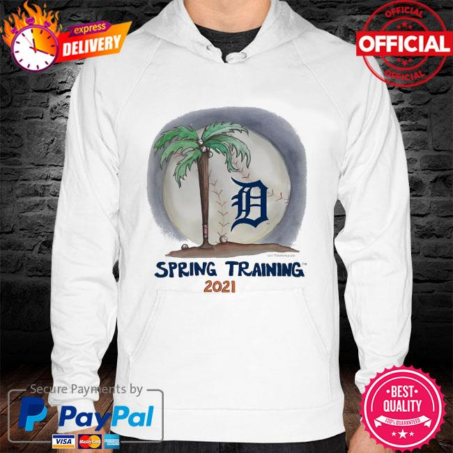 Detroit Tigers Tiny Turnip Youth 2021 Spring Training hoodie