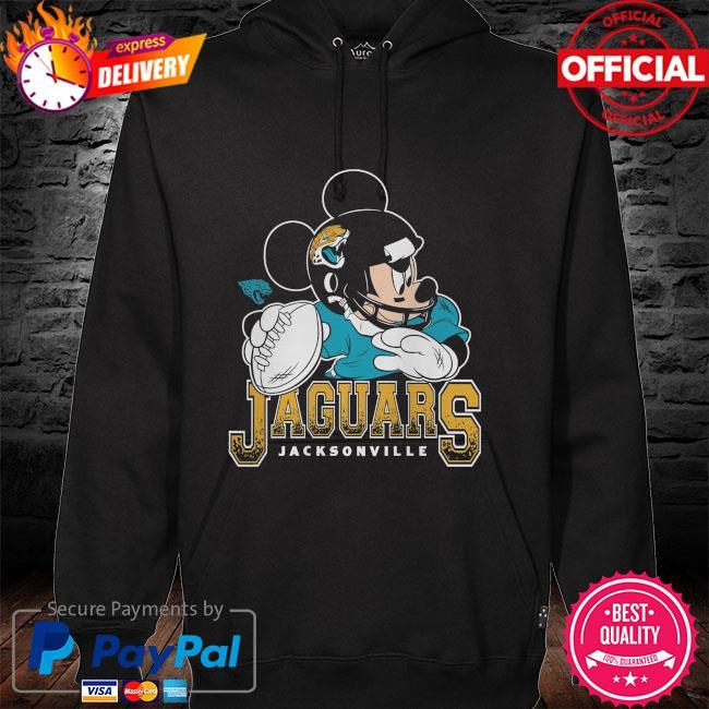 Jacksonville Jaguars Disney Mickey hoodie