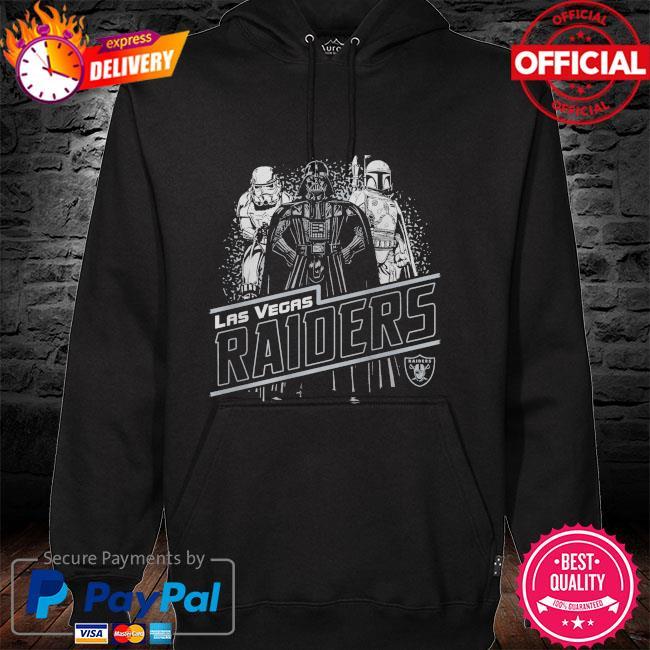 Las Vegas Raiders Empire Star Wars hoodie