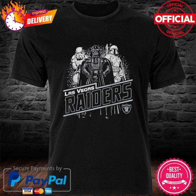 Las Vegas Raiders Empire Star Wars shirt