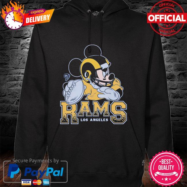 Los Angeles Rams Disney Mickey hoodie