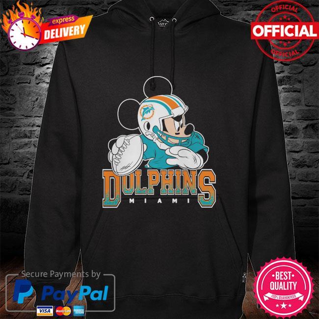 Miami Dolphins Disney Mickey hoodie