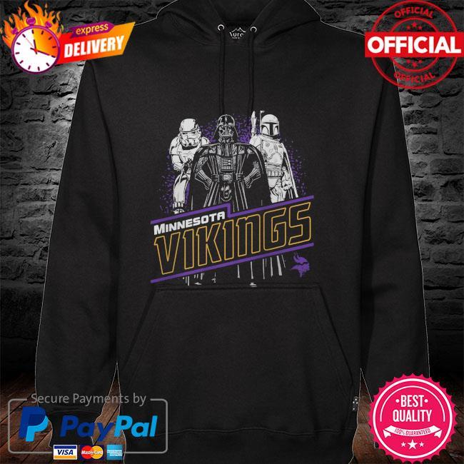 Minnesota Vikings Empire Star Wars hoodie