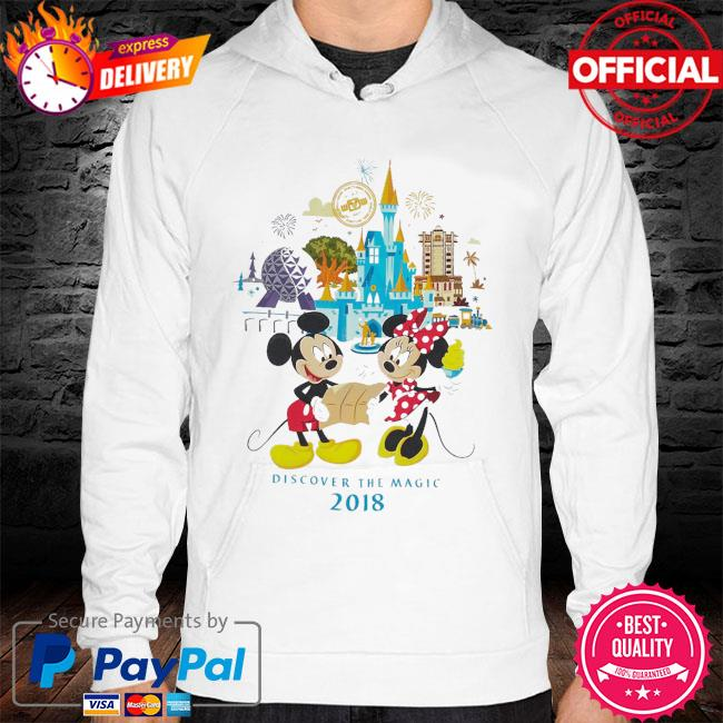 Minnie and mickey mouse walt disney world hoodie
