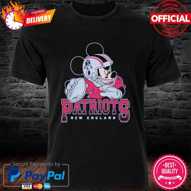 New England Patriots Disney Mickey shirt