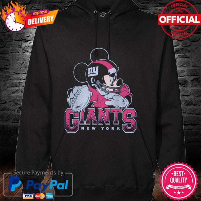 New York Giants Disney Mickey hoodie