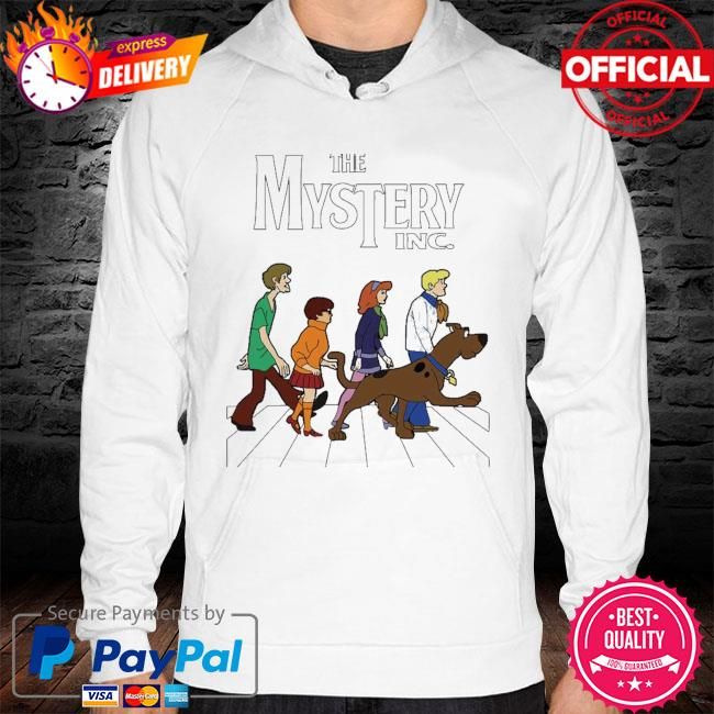 Official scooby doo the mystery inc abbey road hoodie
